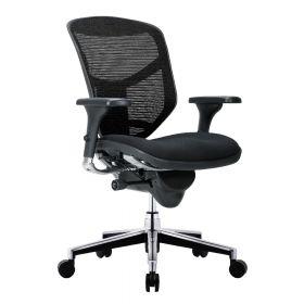 Sedia da ufficio Enjoy Classic COMFORT  (senza poggiatesta) - Sedile in stoffa  - Nera