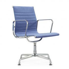 sedia per sala conferenza in tessuto Murcia- blu