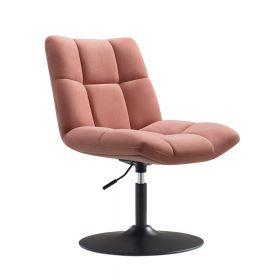 Poltrona design Lille -  Velluto rosa antico