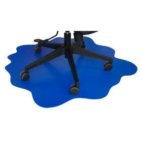 Protezione per pavimento - Splash - Pavimenti duri -  101x101 cm - Blu