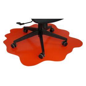 Protezione per pavimento - Splash - Pavimenti duri -  101x101 cm - Rosso